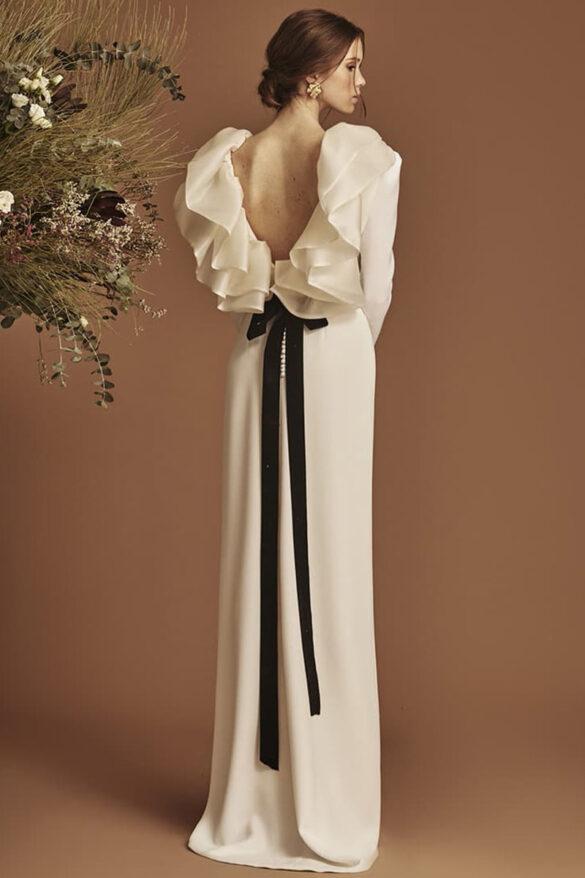 Vestido de novia de la colección novia 2021 de Coosy