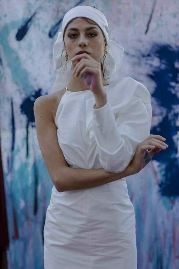 Vestido de novia de Eilú Atelier colección 2021 Carmen