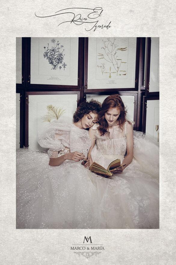 Marco & María colección vestidos de novia 2022