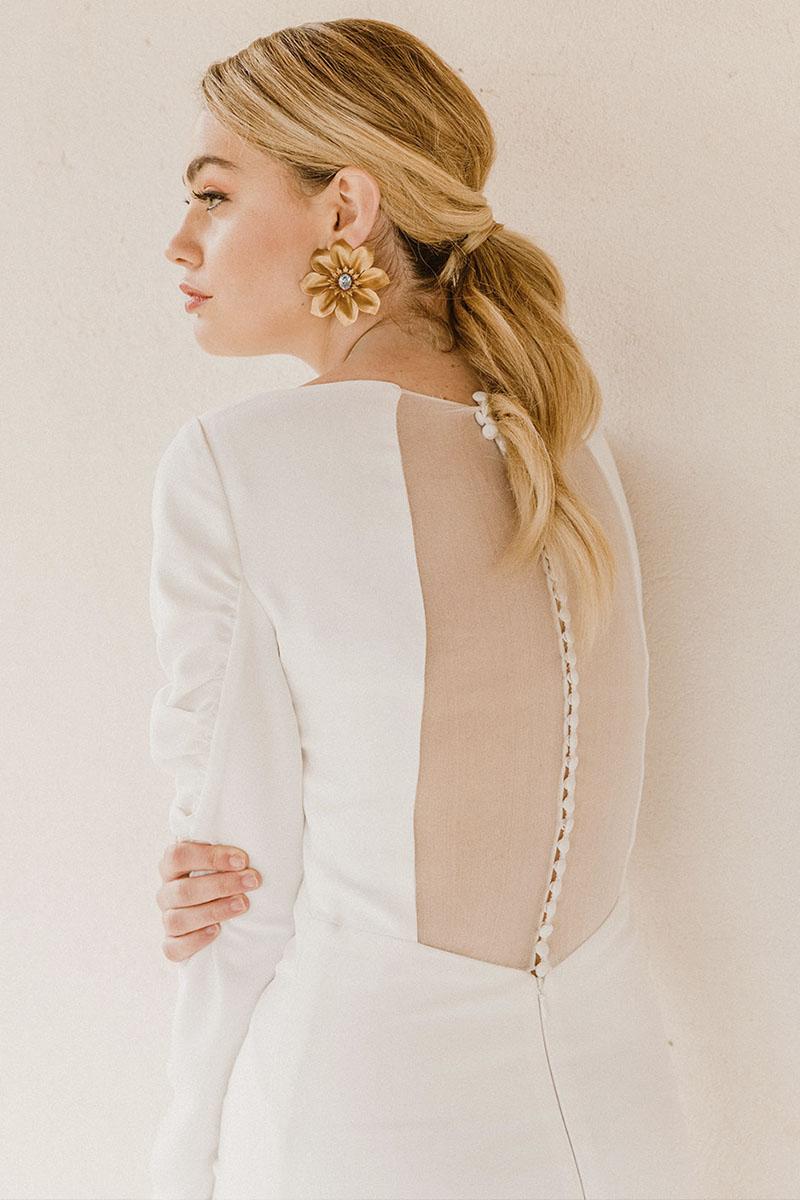 Victoria Imaz vestido de novia 2021